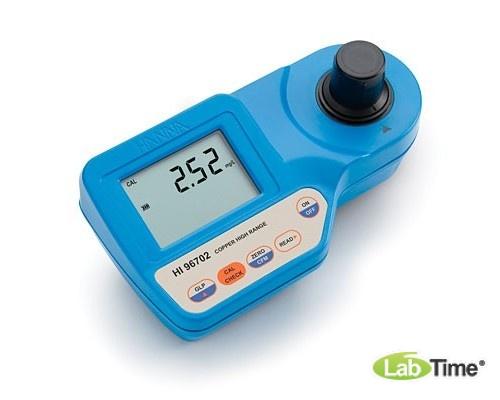 HI 96702 колориметр, анализатор меди HR (0-5,00 мг/л)