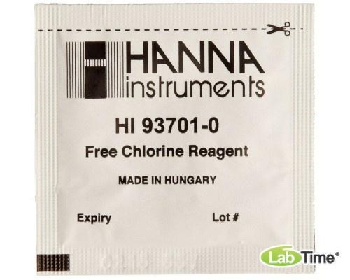 HI 93701-01 набор реагентов на свободный хлор, упак. 100 тестов