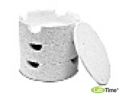 Резервуар штабелируемый для садок из керамики, диам. 115 х 35 мм,Тмакс 1650 град С, для печей LHT/LB