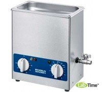 Ванна ультразвуковая SONOREX SUPER 28,0л RK 1028 H c нагревом и сливным краном