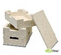 Резервуар штабелируемый для садок из керамики, Тмакс 1600 град С, для печей HTC и LHT