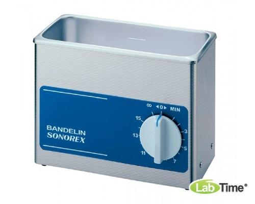 Ванна ультразвуковая SONOREX SUPER 3,0л RK 102 H c нагревом и сливным краном