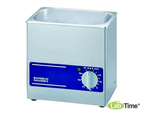 Ванна ультразвуковая SONOREX SUPER 5,5л RK 255 со сливным краном
