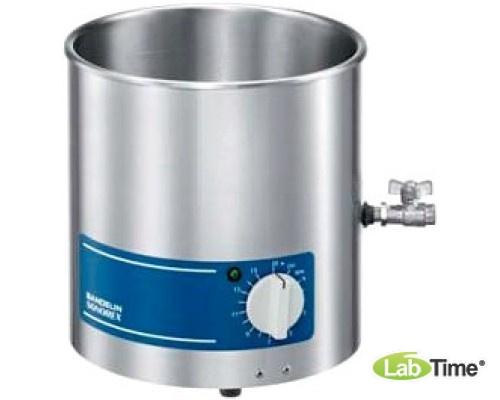 Ванна ультразвуковая SONOREX SUPER 5,6л RK 106 со сливным краном