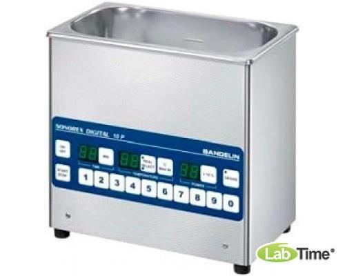 Ванна ультразвуковая SONOREX DIGITAL 28,0л DK 1028 P, память 10прогр., с нагревом и сливным краном