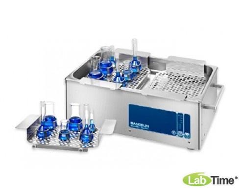 Ванна ультразвуковая SONOREX DIGITEC 9,5л DT 1028 F для быстрой дегазации со сливным краном