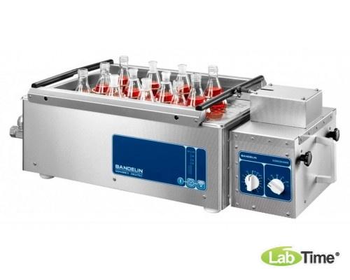 Ванна ультразвуковая SONOREX DIGITEC 9,5л DT 1028 F c встроенным шейкером SA 1028 и сливным краном