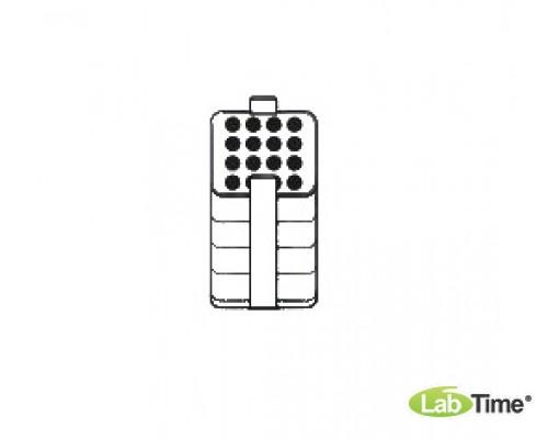 Адаптер для пробирок 16,8х84-125, малый, уп. 2 шт.