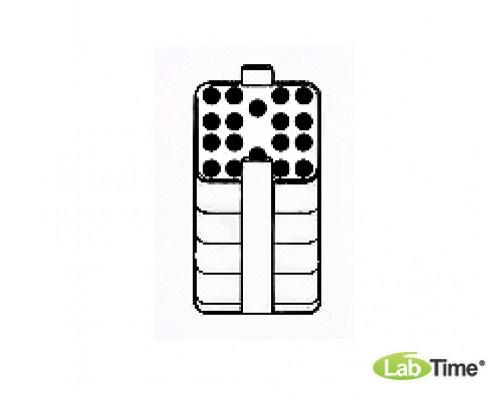 Адаптер для пробирок 18 x 2,6/7мл, для прямоугольного бакета 500мл, уп. 2 шт.