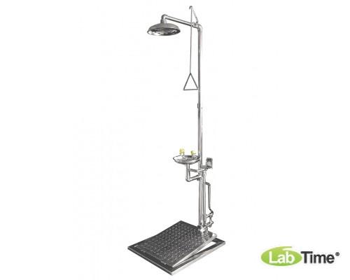 Душ-фонтан IST-15038080, н/ж сталь, с платформенным управлением, защита от замерзания