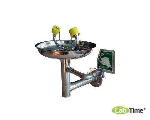 Фонтан для глаз и лица IST-15011000 настенный, н/ж сталь
