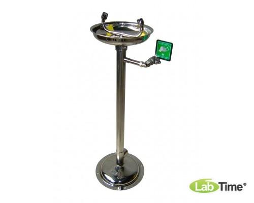 Фонтан для глаз и лица IST-15013000 напольный, н/ж сталь
