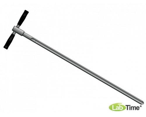 5350-5012 Пробоотборник для грунта Пюркхауер (Purckhauer), нерж.сталь, длина 81см, диам.20мм, Бюркле