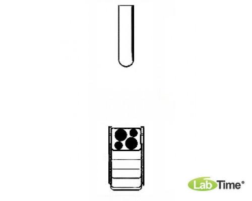 Адаптер для пробирок 2 x 18/30мл, для прямоугольного бакета 100мл, уп. 2 шт.