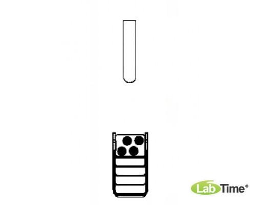 Адаптер для пробирок 2 x 7/18мл, для прямоугольного бакета 100мл, уп. 2 шт.