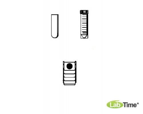 Адаптер для пробирок 1 x 30/50мл, для прямоугольного бакета 100мл, уп. 2 шт.
