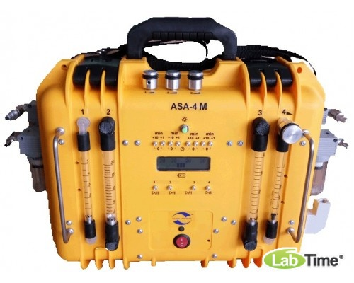 Аспиратор ASA-4 (Li Р-1,5,20,40) 4-х канальный (66 л/мин)
