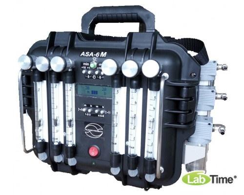 Аспиратор ASA-6 (Li Р-2,2,2,5,5,5) 6-ти канальный (21 л/мин)