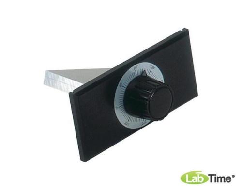 Алюминиевый брусок для опытов со шкалой транспортира