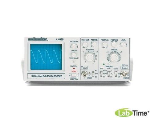 Осциллограф аналоговый, 1x10 МГц (230 В, 50/60 Гц)