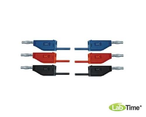 Набор из 15 соединительных проводов для опытов длиной 75 см и сечением 1 мм?