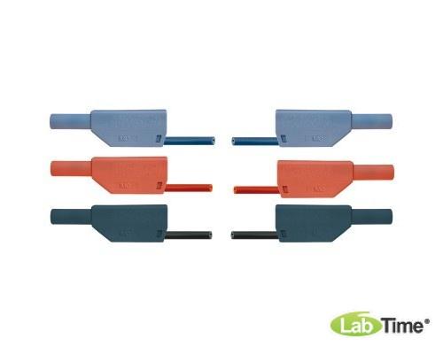 Набор из 15 безопасных соединительных проводов для опытов длиной 75 см