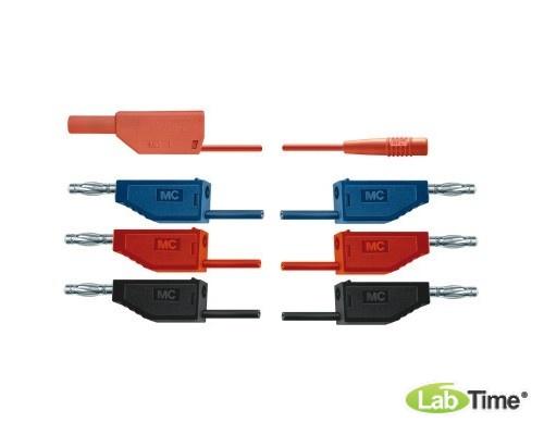 Набор соединительных проводов для опытов с электровакуумными приборами
