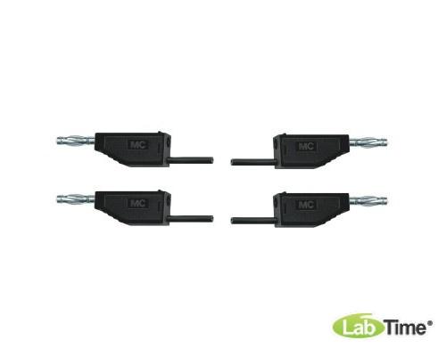 Пара соединительных проводов для опытов длиной 75 см