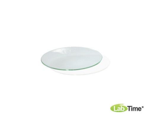 Набор из 10 часовых выпукло-вогнутых стекол круглой формы диаметром 125 мм