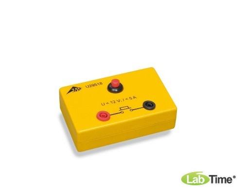 Кнопка на электробезопасной коробке
