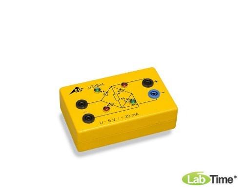 Мостик Гретца в электробезопасной коробке, со светодиодами
