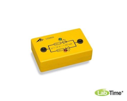 Индикатор направления тока в электробезопасной коробке