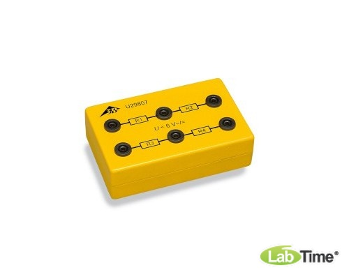 Неизвестные резисторы в электробезопасной коробке