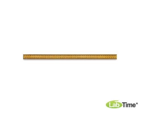 Набор из 10 деревянных линеек, 0,5 м