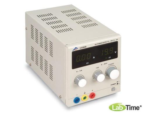 Источник питания постоянного тока, 0 – 20 В, 0 – 5 А (230 В, 50/60 Гц)