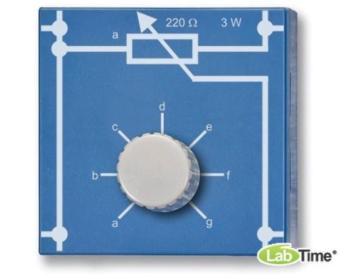 Потенциометр 220 Ом, 3 Вт, P4W50