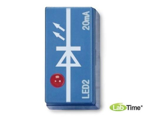 Светодиод, красный, боковое расположение, P2W19