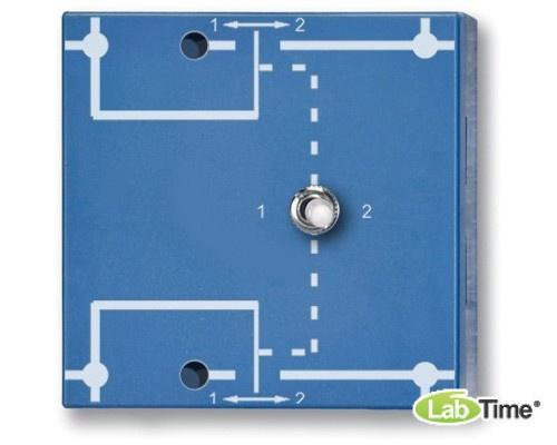 Двухполюсный клавишный переключатель, P4W50