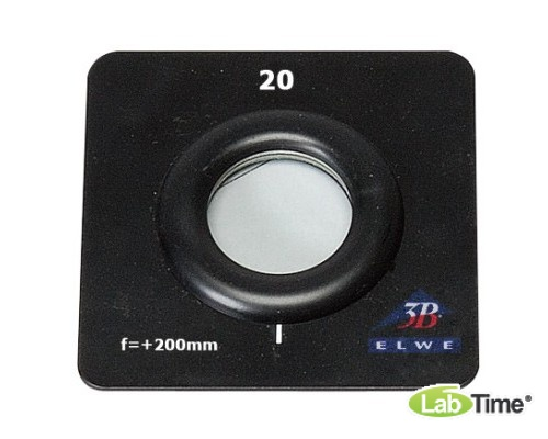 Выпуклая линза модели К, f : 200 мм