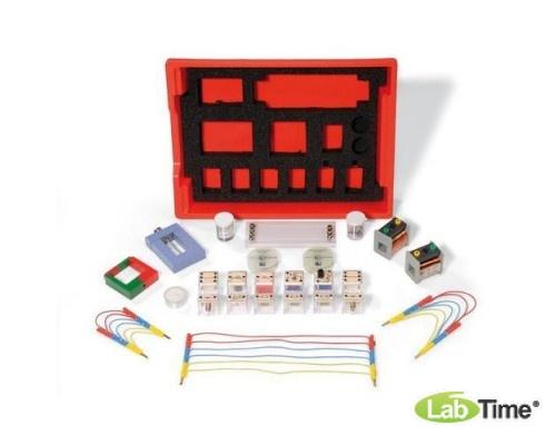 Комплект для учебных опытов по разделу «Электричество и магнетизм» ( 41 опыт)