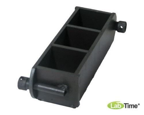 Форма куба 3ФК-70, для бетонных образцов 70х70х70мм 3-х гнездн.