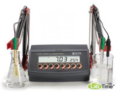 HI 2550-02 pH-метр/ОВП-метр/кондуктометр/термометр портативный (pH/ORP/TDS/EC/T)