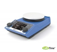 Мешалка магнитная с нагревом RET control-visc white