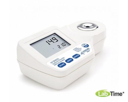 HI 96821 Рефрактометр ручной цифровой для определения солености водных растворов