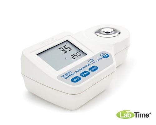 HI 96822 Рефрактометр ручной цифровой для определения солености морской воды