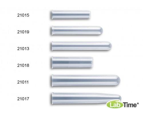 Пробирка 16x100 мм 10 мл, нестерильная (цилиндрическая с ободком, градуированная, з PP), 250 шт