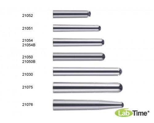 Пробирка 11×70 мм 3 мл цилиндрическая, без ободка, из полистирола для радиоиммуноанализа (R.I.A.) в упаковке из 250 штук