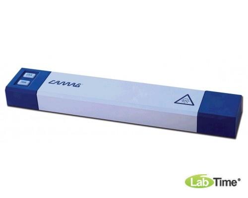 УФ лампа коротковолновая, 254 нм, 2х8 Вт