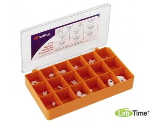Комплект магнитов перемешивающих цилиндрических различной формы, упак. 10 шт