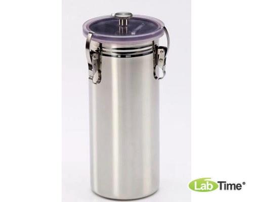 Анаэростат 3 л, eco, на 15 чашек Петри диам. 60-100 мм, нерж. сталь, Schuett